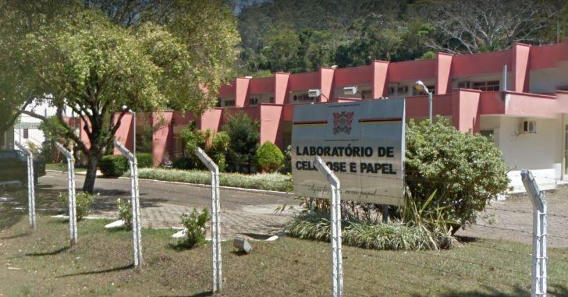 Laboratório de Celulose e Papel, campus da UFV. Foto: Divulgação