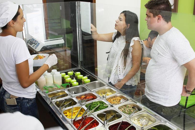 King Salad Saladeria inaugurada em Viçosa nesta terça-feira (26). Foto: Viçosa em Dia