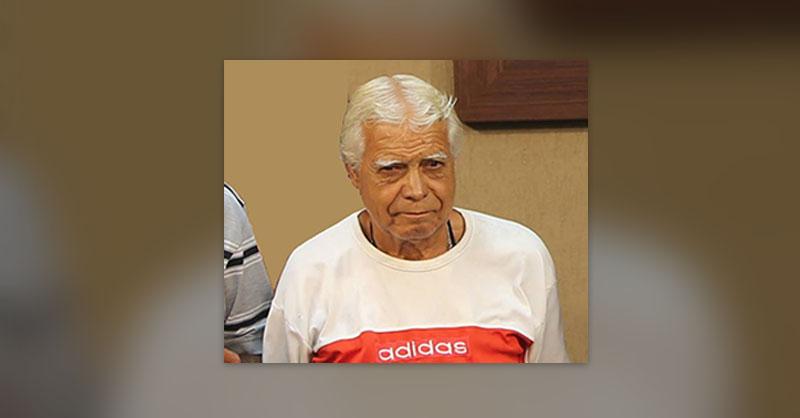 Sr. 'Juca de Galocha' morre aos 72 anos. Foto: Acervo Pessoal