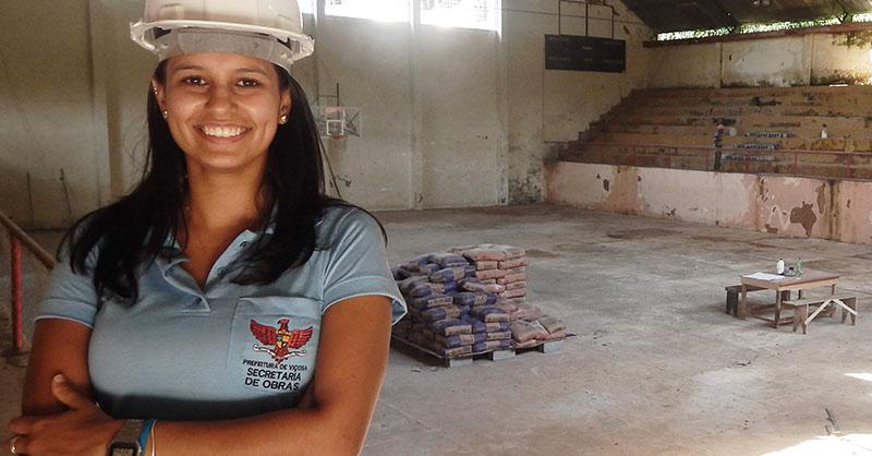 Luiza Lopardi atuava como Diretora de Obras Terceirizadas da Secretaria. Foto: Divulgação/Prefeitura de Viçosa