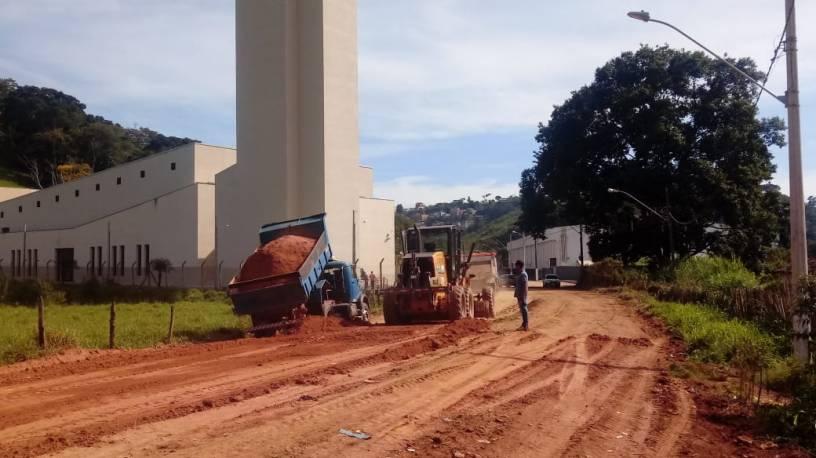 Avenida São João Batista. Foto: Divulgação/Prefeitura de Viçosa